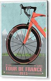 Tour De France Bike Acrylic Print by Andy Scullion