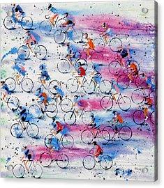 Giro D'italia Acrylic Print by Neil McBride