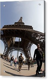 Tour Eiffel 3 Acrylic Print by Art Ferrier