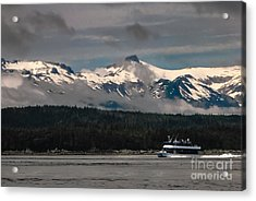 Touring Alaska Acrylic Print by Robert Bales