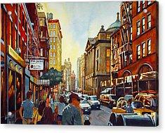 Tourist Season Acrylic Print