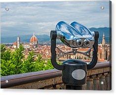 Touristic Florence Acrylic Print