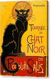 Tournee Du Chat Noir Acrylic Print