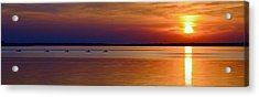 Tours End - Kayak Sunset Photo Acrylic Print