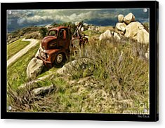 Tow Truck No Where To Go Acrylic Print
