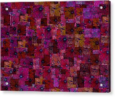Toward Square Acrylic Print by Jack Zulli