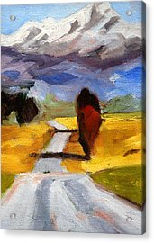 Toward The Mountain Acrylic Print