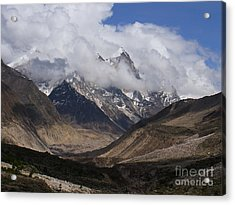 Towards Bhagirathi Acrylic Print