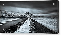 Towards Storidalur Acrylic Print by Dave Bowman