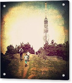 Towards The Tower Acrylic Print