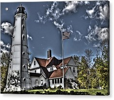 Acrylic Print featuring the photograph Tower At North Point by Deborah Klubertanz
