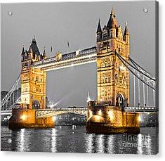Tower Bridge - London - Uk Acrylic Print
