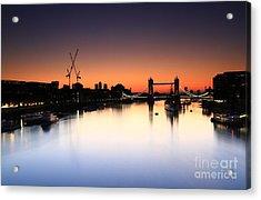 Tower Bridge 2 Acrylic Print