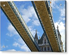 Tower Bridge Acrylic Print by Christi Kraft