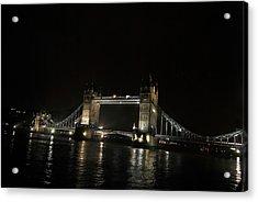 Tower Bridge Acrylic Print by Frederico Borges