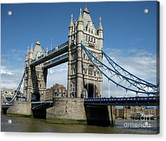 Tower Bridge London Acrylic Print by Heidi Hermes