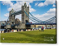 Tower Bridge Acrylic Print by Matt Malloy
