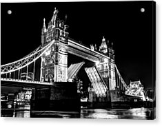 Tower Bridge Opening Acrylic Print