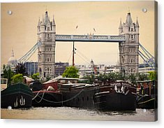 Tower Bridge Acrylic Print by Stephen Norris