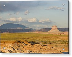Tower Butte View Acrylic Print