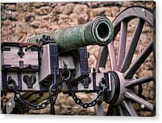 Tower Canon Acrylic Print by Heather Applegate