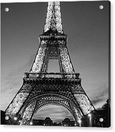 Tower Glow Acrylic Print