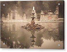 Tower Grove Fountain Acrylic Print