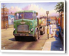 Tower Hill Transport. Acrylic Print