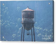 Tower In The Trees Acrylic Print by Lotus