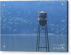 Tower In The Water Acrylic Print by Lotus