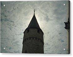 Tower  Acrylic Print by Juan  Bosco