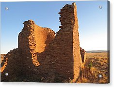 Tower Kiva At Kin Klizhin Acrylic Print by Feva  Fotos