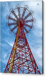 Tower Acrylic Print by Mitch Cat