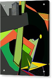 Tower Of Babel Acrylic Print by Anne Hamilton