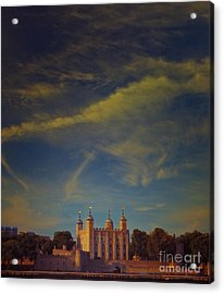 Tower Of London Acrylic Print by Paul Grand