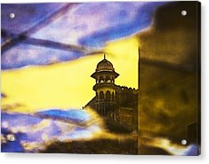 Tower Reflection Acrylic Print by Prakash Ghai