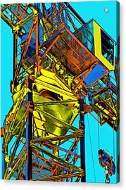 Towering 5 Acrylic Print by Wendy J St Christopher