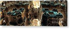 Towers Acrylic Print by Bernard MICHEL