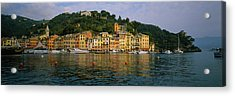 Town At The Waterfront, Portofino, Italy Acrylic Print