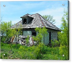 Town Meeting Hall Lost Acrylic Print