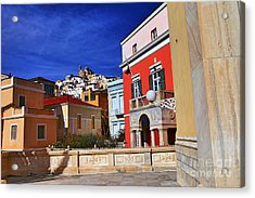 Town Of Hermes Acrylic Print