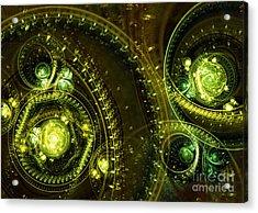 Toxic Dream Acrylic Print by Martin Capek