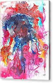 Toxic House Party Acrylic Print by Buck Buchheister