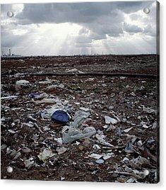Toxic Waste Dump Acrylic Print