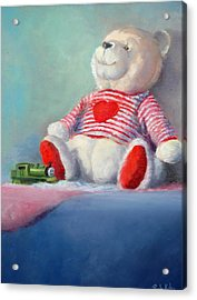 Toy Bear #1 Acrylic Print by Rich Kuhn