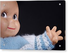 Toy Doll Acrylic Print by Donald  Erickson