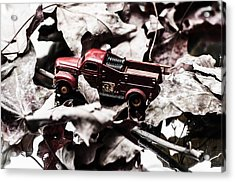 Toy Fire Truck Acrylic Print