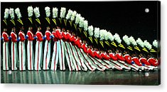 Toy Soldiers Acrylic Print by Mike Martin