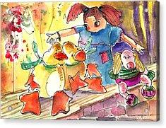 Toy Story In Lanzarote 02 Acrylic Print by Miki De Goodaboom