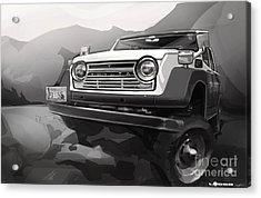 Toyota Fj55 Land Cruiser Acrylic Print by Uli Gonzalez